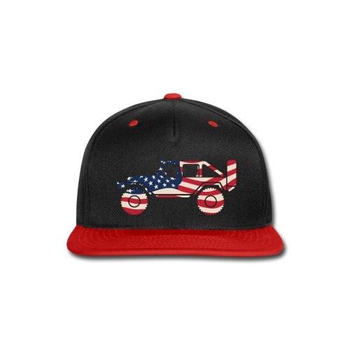 American Patriotic Off Road 4x4 - Snap-back Baseball Cap