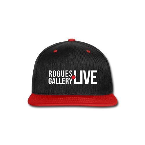 Rogues Gallery LIVE - Snap-back Baseball Cap