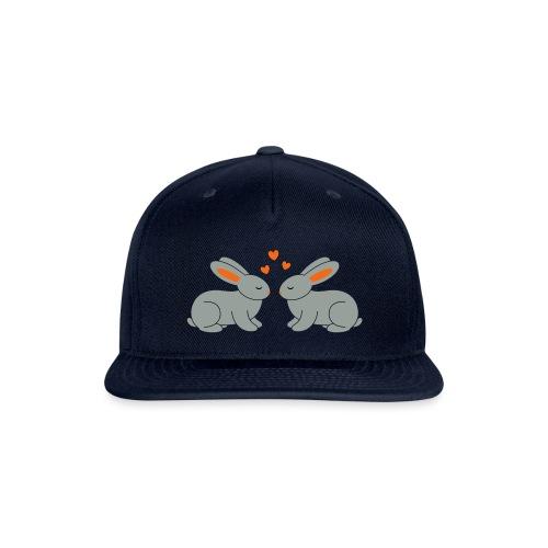 Rabbit Love - Snap-back Baseball Cap