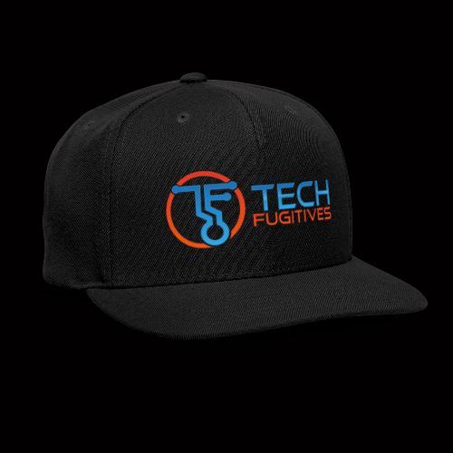 Tech Fugitives Logo T's and Gear - Snapback Baseball Cap