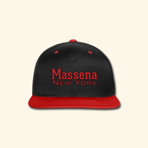 Massena New York - Snap-back Baseball Cap