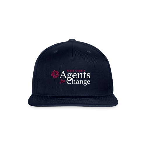 pascoagentsforchange logo - Snap-back Baseball Cap