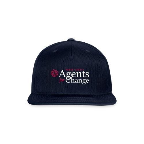 pascoagentsforchange logo - Snapback Baseball Cap