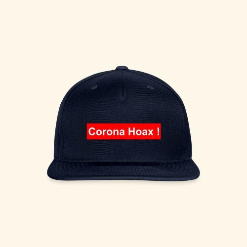 Korona corona hoax - Snapback Baseball Cap