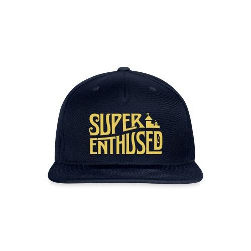 Super Enthused Castle yellow - Snap-back Baseball Cap