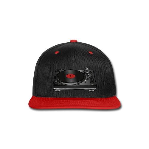 Record player, turntable - Snap-back Baseball Cap
