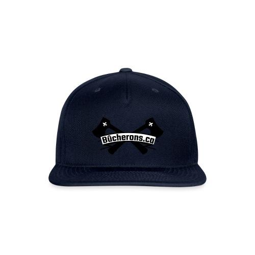 Banner and Axe - Snap-back Baseball Cap