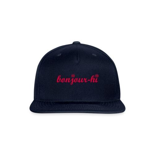 Bonjour-Hi Montréal - Snapback Baseball Cap