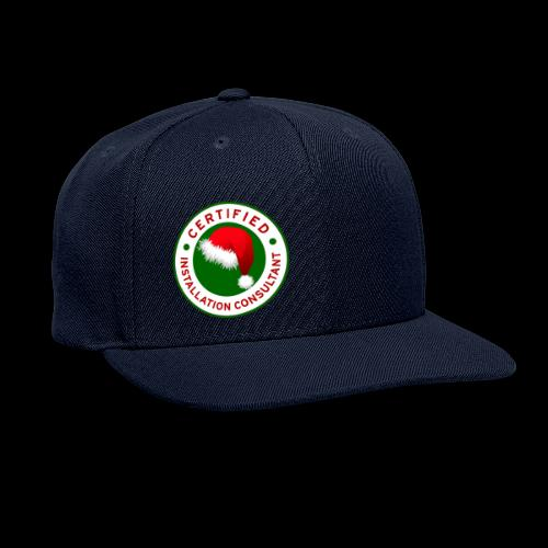 Christmas Lights R Us Emblem - Snapback Baseball Cap