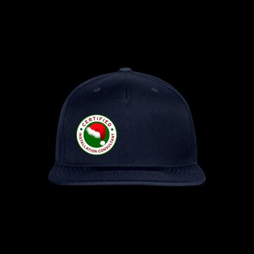 Christmas Lights R Us Emblem - Snap-back Baseball Cap