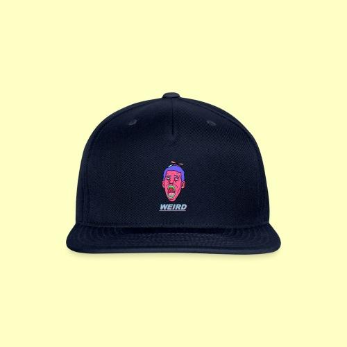 WEIRD - Snapback Baseball Cap