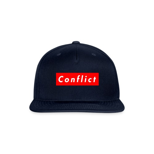 conflict bogo - Snapback Baseball Cap