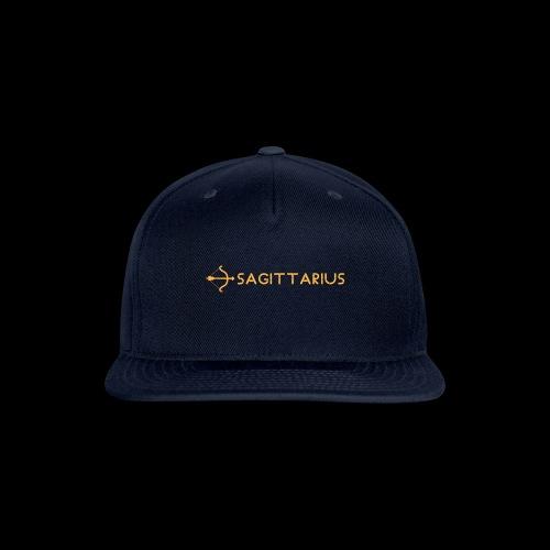 Sagittarius - Snapback Baseball Cap