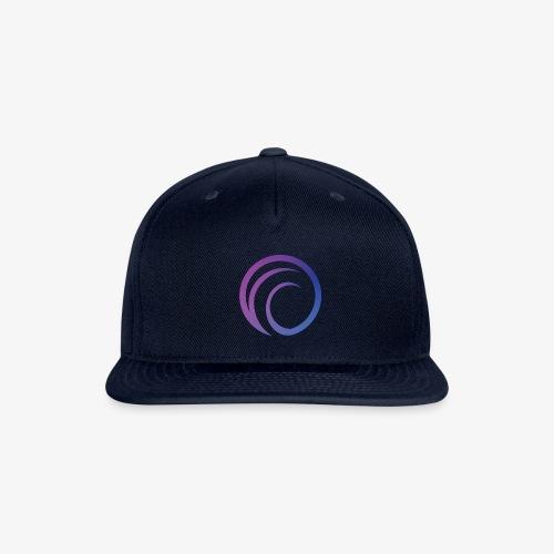 DJPR logo graphic gradient - Snapback Baseball Cap
