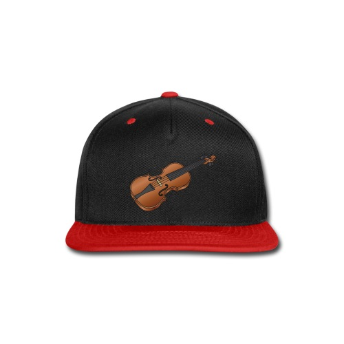 Violin, fiddle - Snap-back Baseball Cap