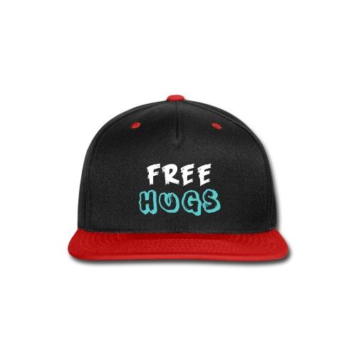 FREE + HUGS - Snap-back Baseball Cap