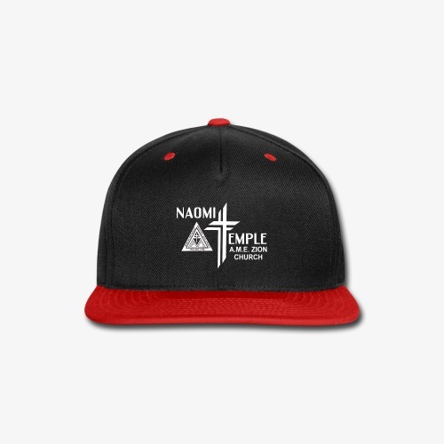 Naomi Temple All-white Logo - Snap-back Baseball Cap