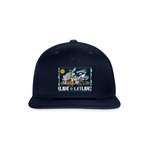 Live and Let Live - Snapback Baseball Cap