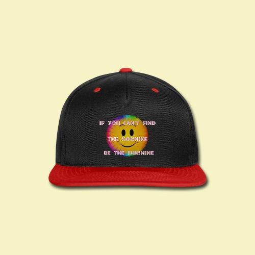 Sunshine - Snap-back Baseball Cap