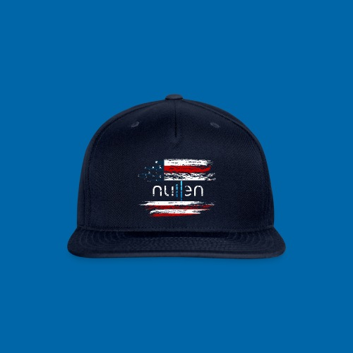Made in the USA - Snap-back Baseball Cap