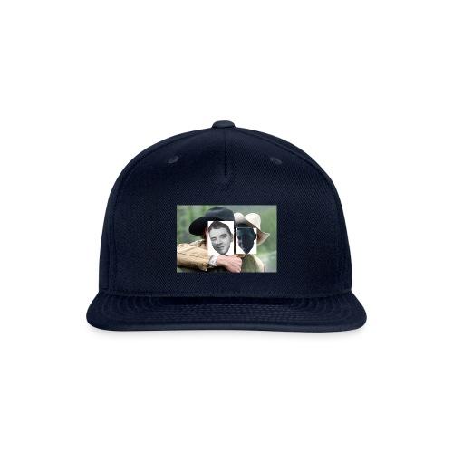 Darien and Curtis Camping Buddies - Snapback Baseball Cap