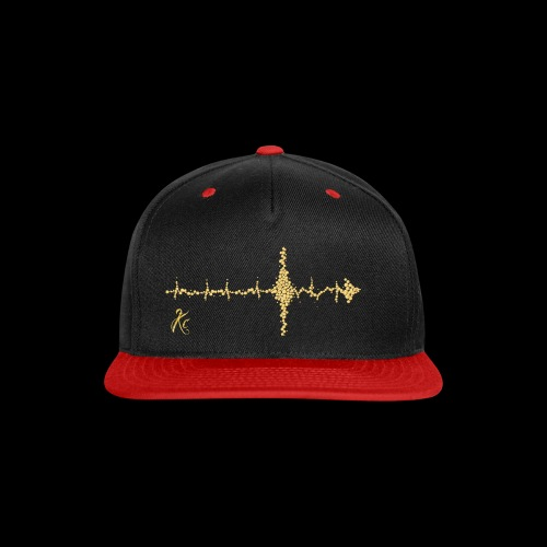 Sound Wave Arrow - Snap-back Baseball Cap