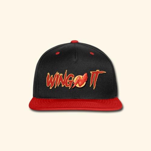 WingN It Logo - Snap-back Baseball Cap