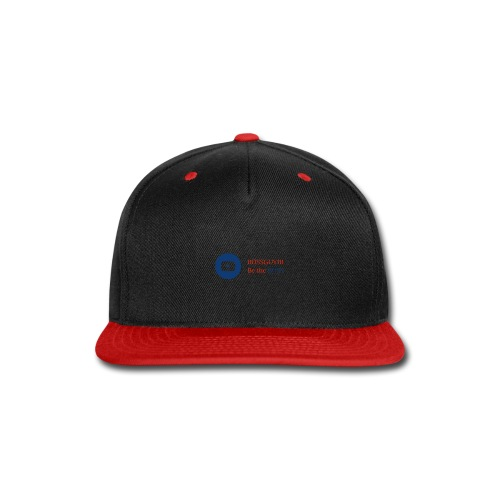 boss logo with red text - Snap-back Baseball Cap