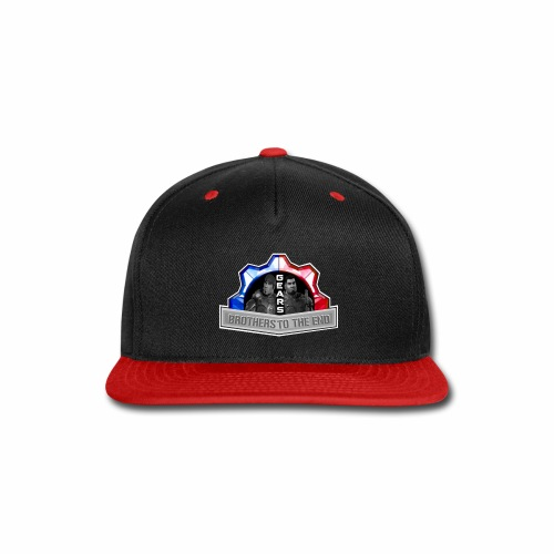 BROS TO THE END GEARS - Snap-back Baseball Cap