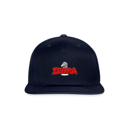 Zebra No Tellin Lies band - Snapback Baseball Cap