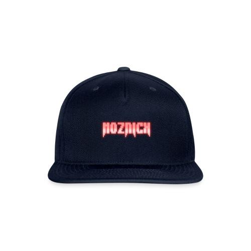 TEXT MOZNICK - Snapback Baseball Cap
