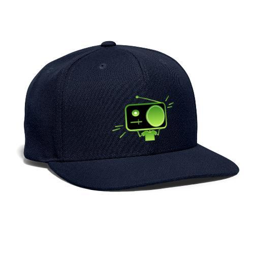 MusiqHead Green Ver 3 - Snapback Baseball Cap