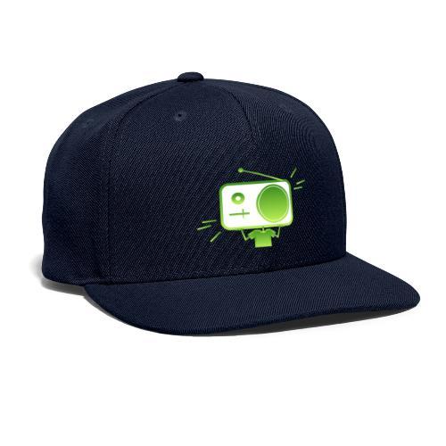 MusiqHead Green Ver 4 - Snapback Baseball Cap
