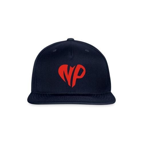 np heart - Snapback Baseball Cap