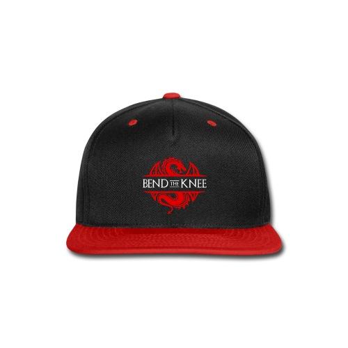 Bend The Knee - Snap-back Baseball Cap