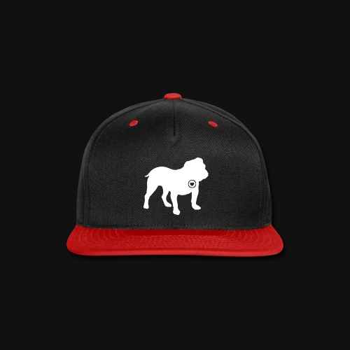 Bulldog love - Snap-back Baseball Cap