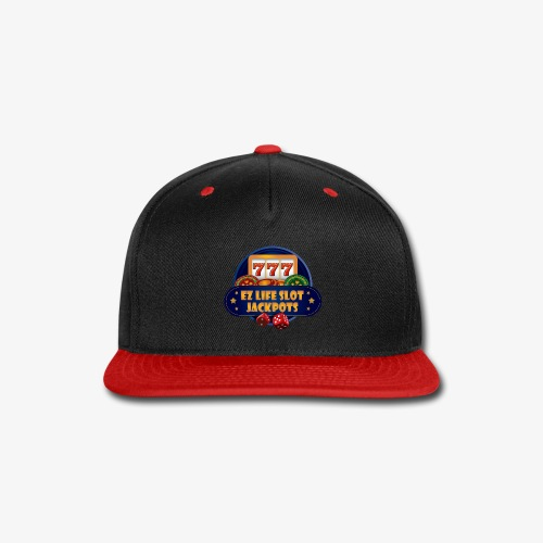 EZ Life Logo - Snap-back Baseball Cap