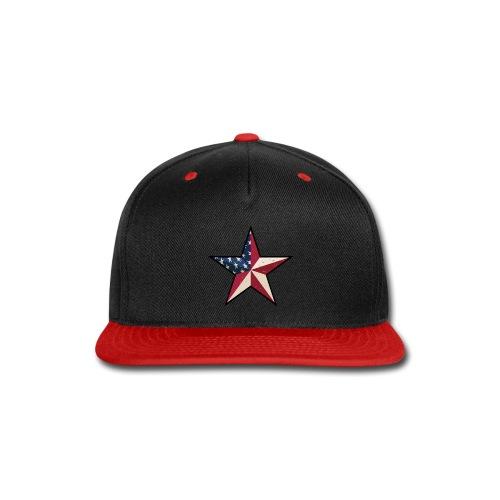 American Patriot Barn Star - Snap-back Baseball Cap