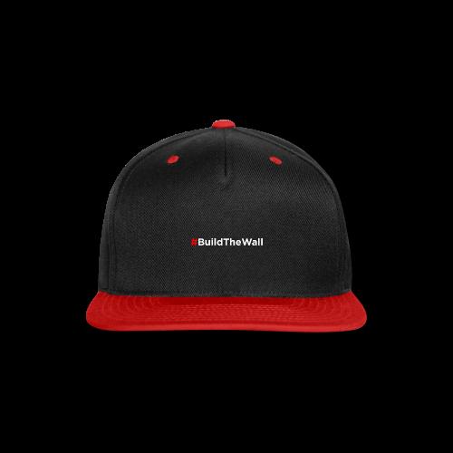 Build The Wall - Snap-back Baseball Cap