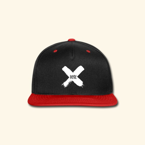 White X - Snap-back Baseball Cap