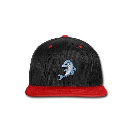 Dolphin Cartoon - Snap-back Baseball Cap