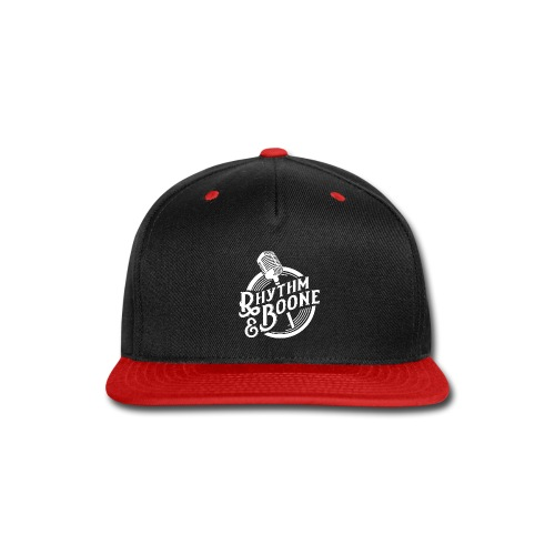 Rythm Boone WHITE 01 - Snap-back Baseball Cap