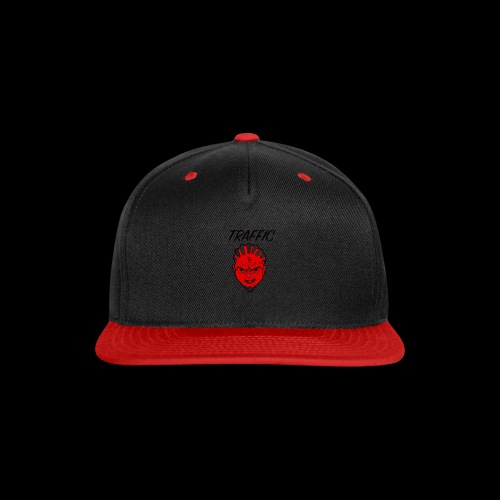 Traffic Devil Face - Snap-back Baseball Cap