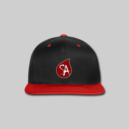 Shadow Armada Tear Drop Logo - Snap-back Baseball Cap