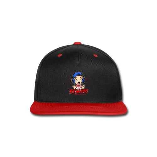 Headphone Users Beware - Snap-back Baseball Cap