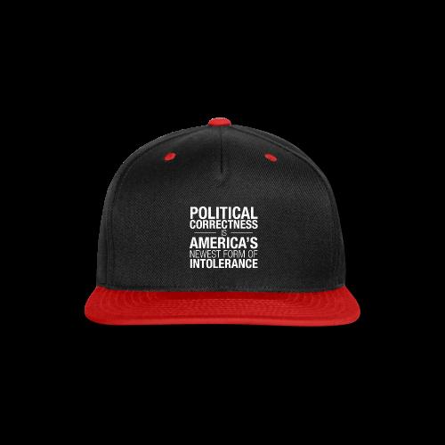 Political Correctness Sucks - Snap-back Baseball Cap