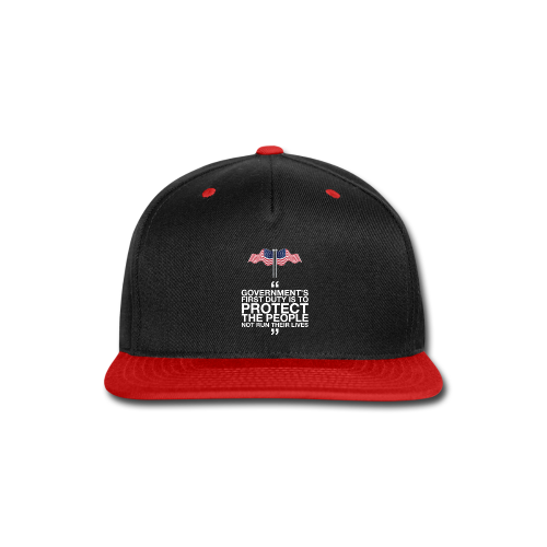 Protect The People - Snap-back Baseball Cap