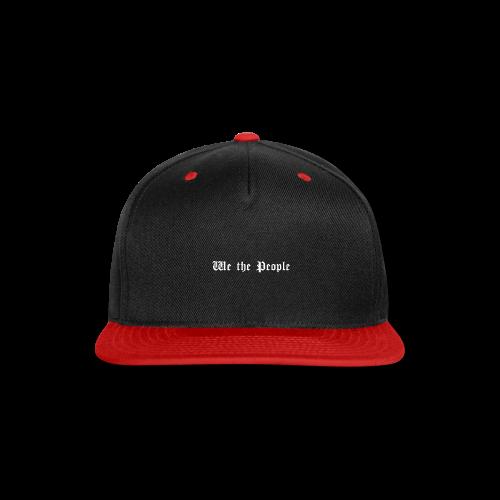We The People - Snap-back Baseball Cap