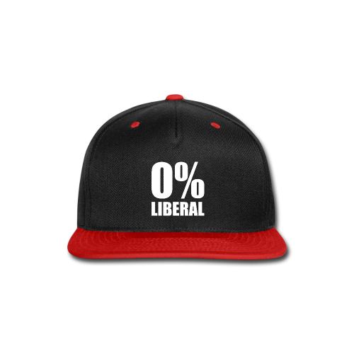 Zero Percent Liberal - Snap-back Baseball Cap