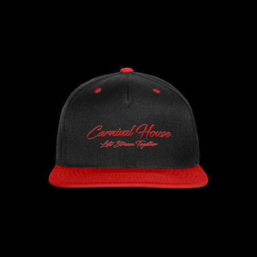 The Carnival House Logo 2.0! - Snap-back Baseball Cap